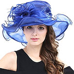 Wide Brim Derby Hat (various colors available)